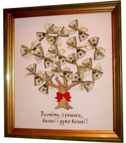 поздравления для подарка денежного дерев умеренно
