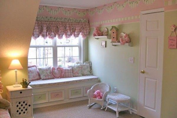 В статье отражены особенности использованных тканей, расцветок, аксессуаров и украшений в шторах стиля шебби-шик.