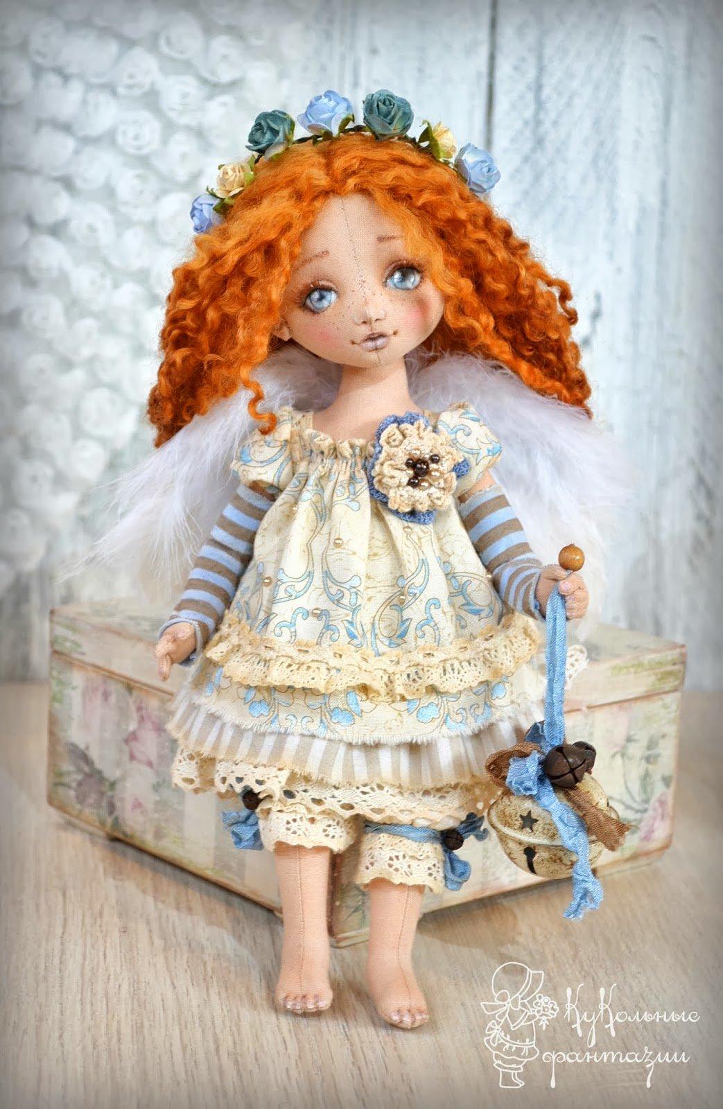 Кукла ручной работы мастер класс