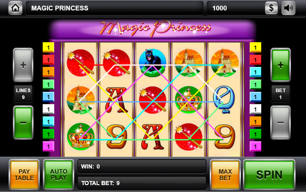Magic princess описание автомата