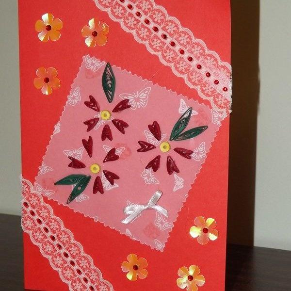Самодельные открытки для мамы на 8 марта