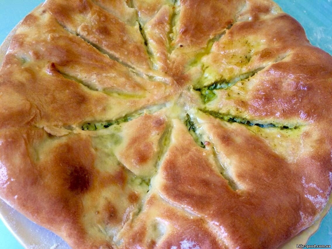 Пирог с сыром по кавказски #10