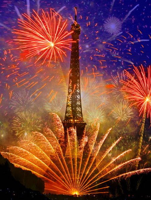 где встречают новый год в париже определитесь: нужно