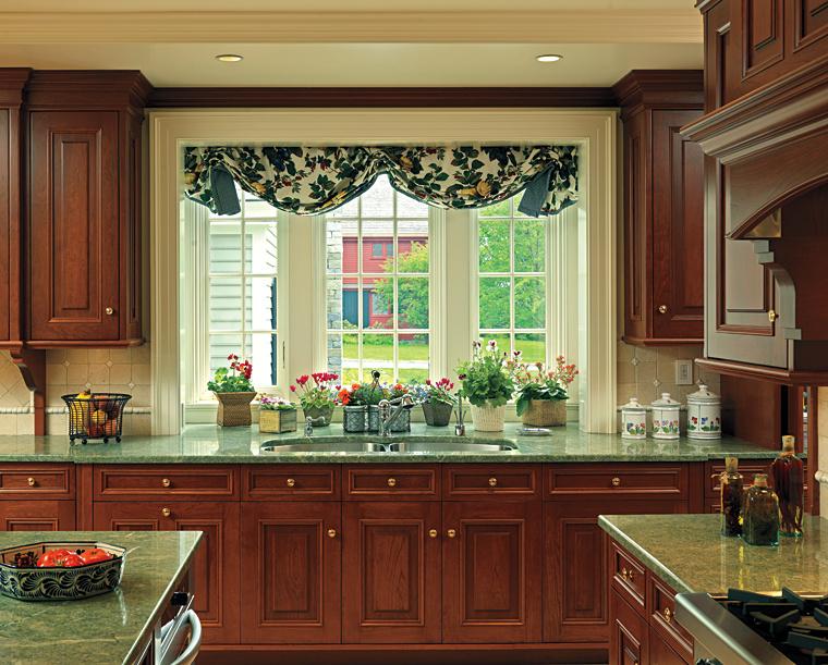 Дизайн окна на кухни в картинках