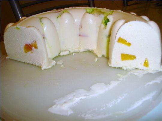 Рецепт десерта из творога и желатина