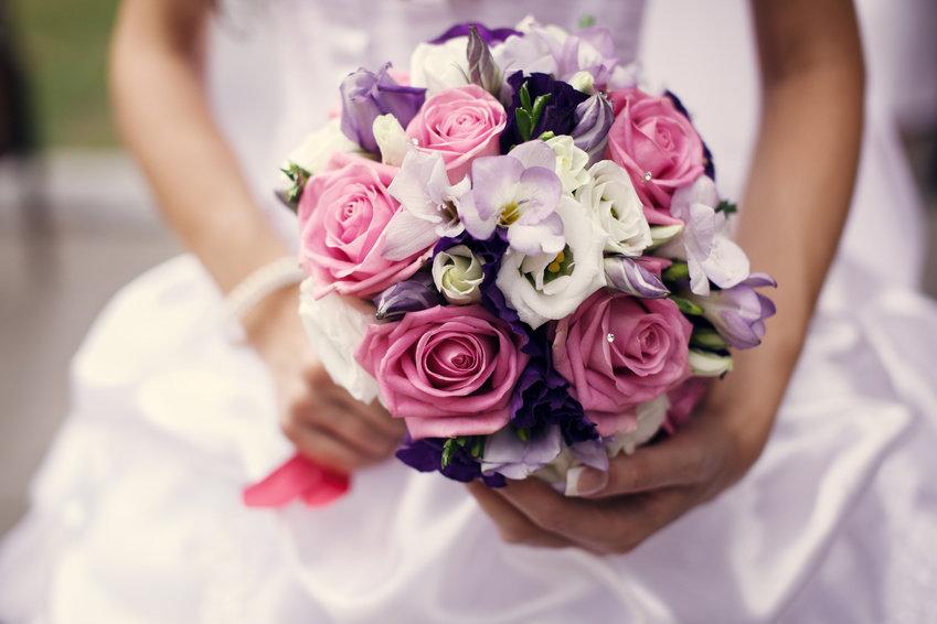 Красивые свадебные букет, базы