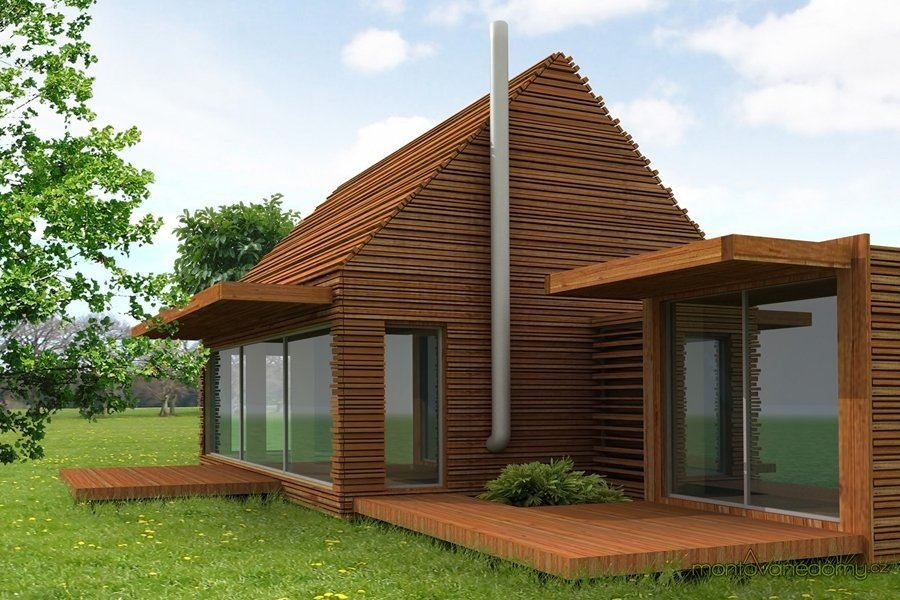 фото проекты бюджетных деревянных домов