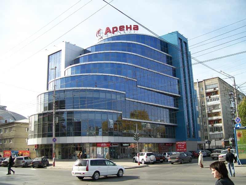 Арена, Саратов. Описание торгового центра