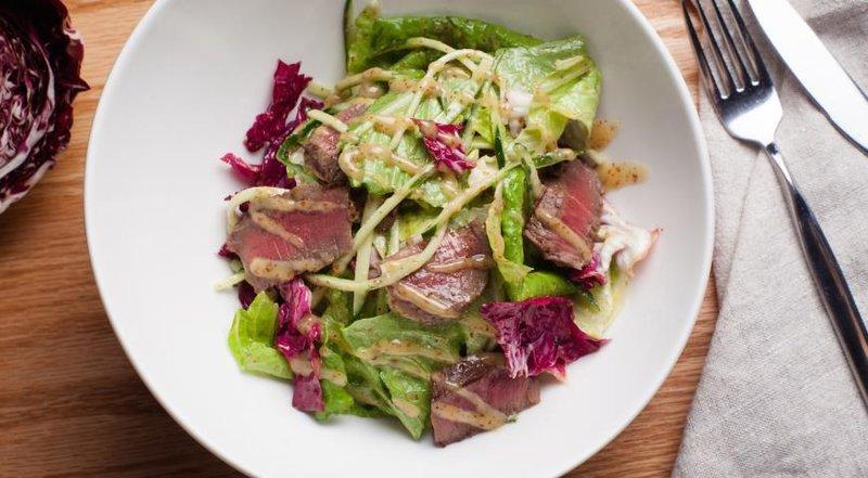 простые рецепты салатов с фотографиями с говядиной