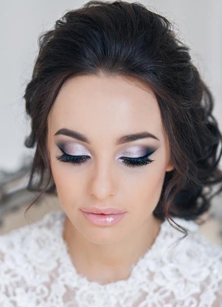 макияж свадебный яркий фото