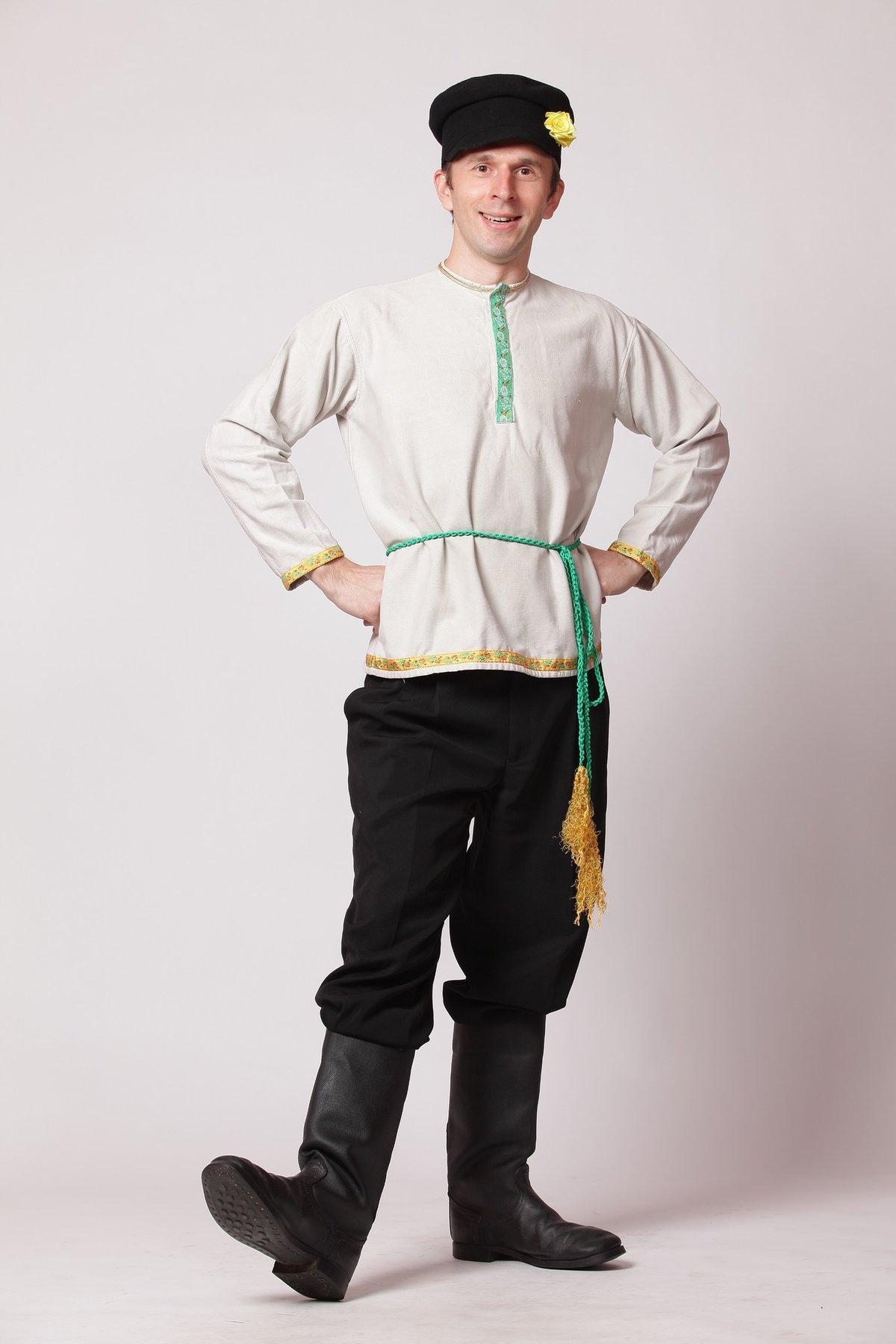 русский национальный мужской костюм картинки среду маман