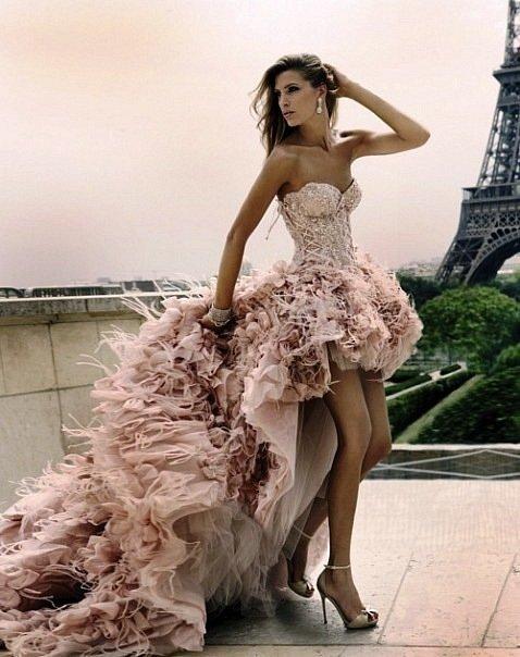 грязно-розового цвета свадебное платье / Мода / платье грязно-розового цвета / Pinme.ru