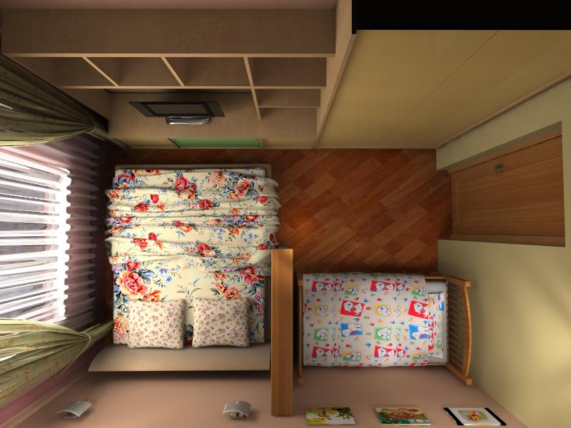 Детская комната с родителями - 57 фото удачно совмещенного