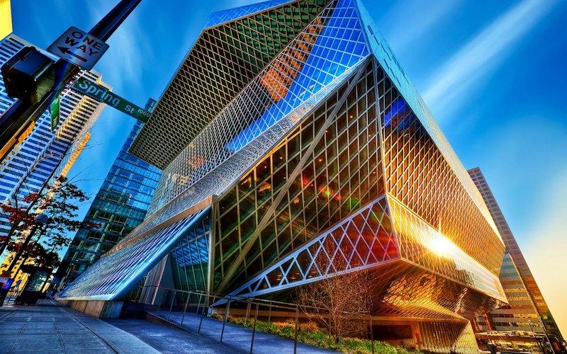 Обои здание, город, постройка, модерн Современная архитектура Скачать обои здание, город, постройка, модерн, картинки, фото