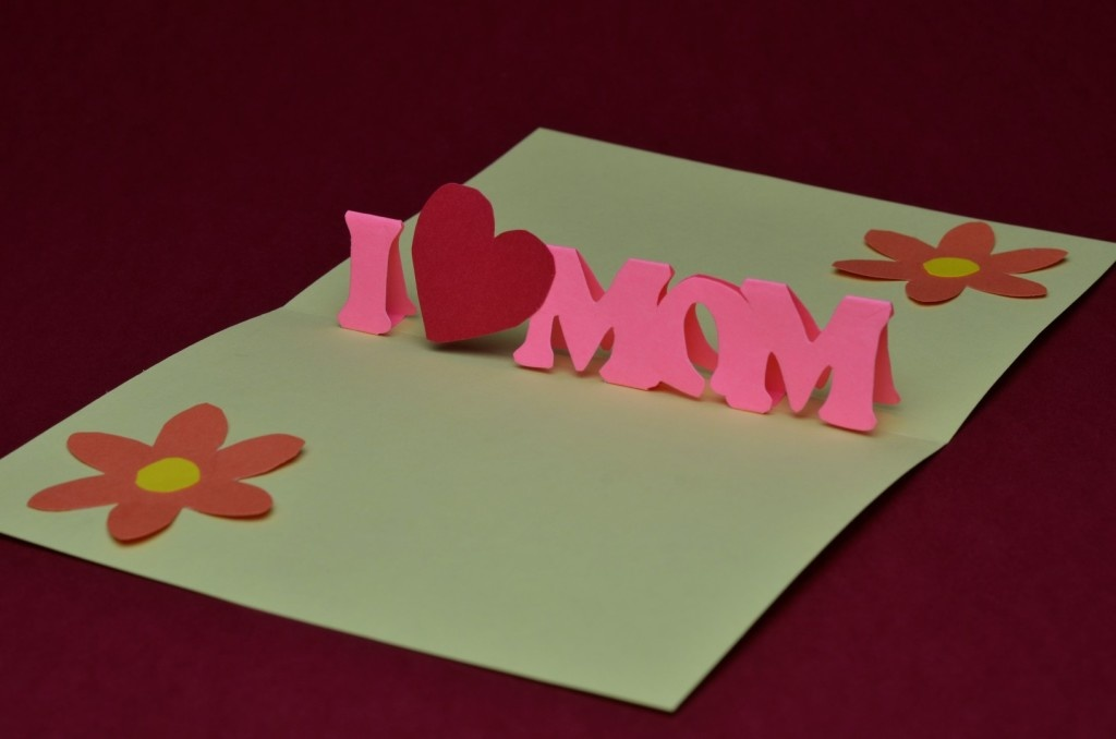 Как сделать очень красивую открытку для мамы из бумаги, открытки про