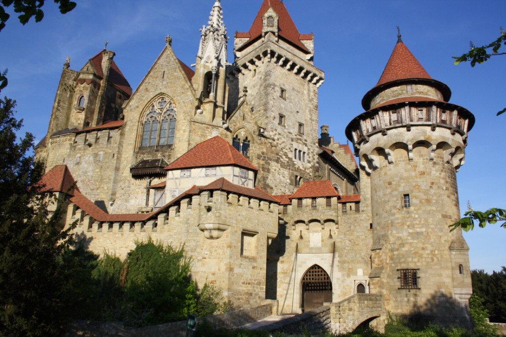 замки австрии фото с названиями