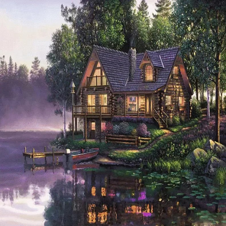Картинка анимашка дом