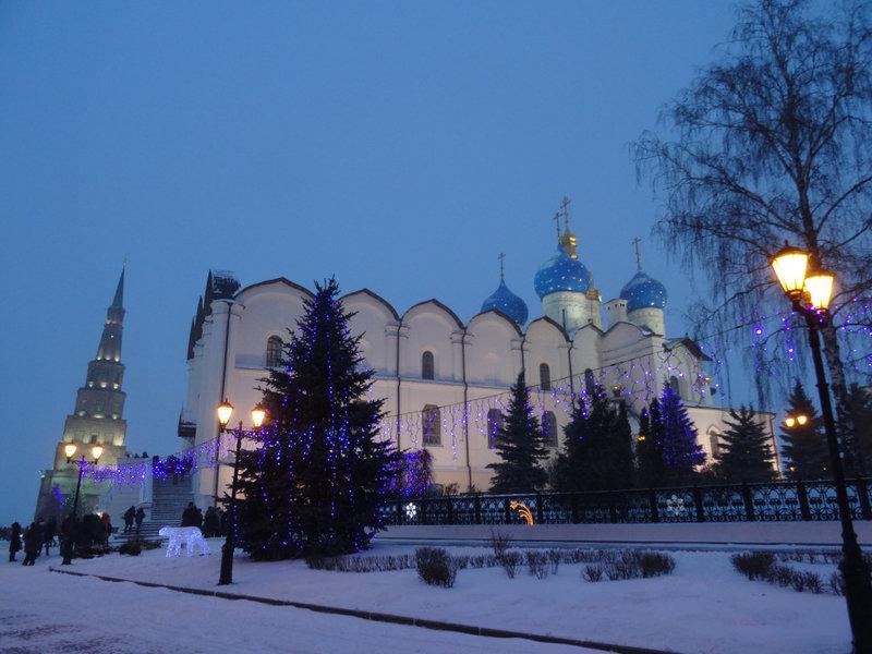 Казань Новогодняя.