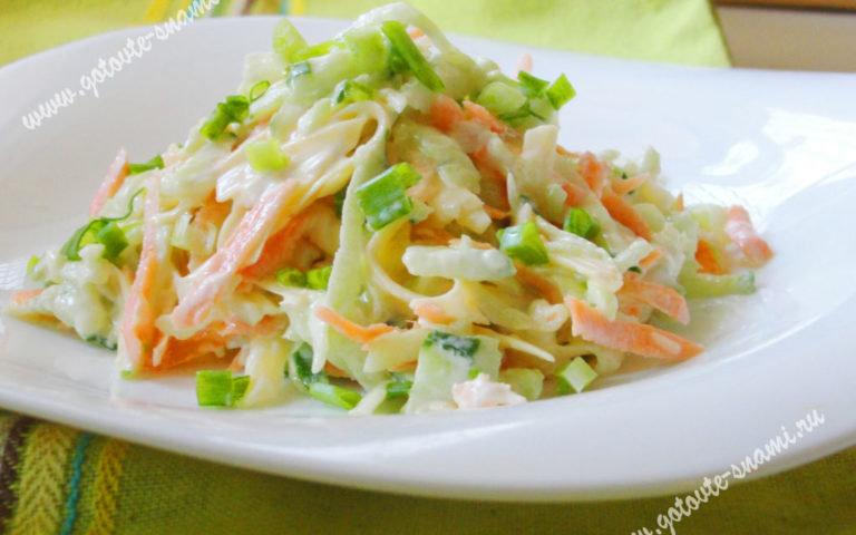 Салатики на быструю руку из простых продуктов