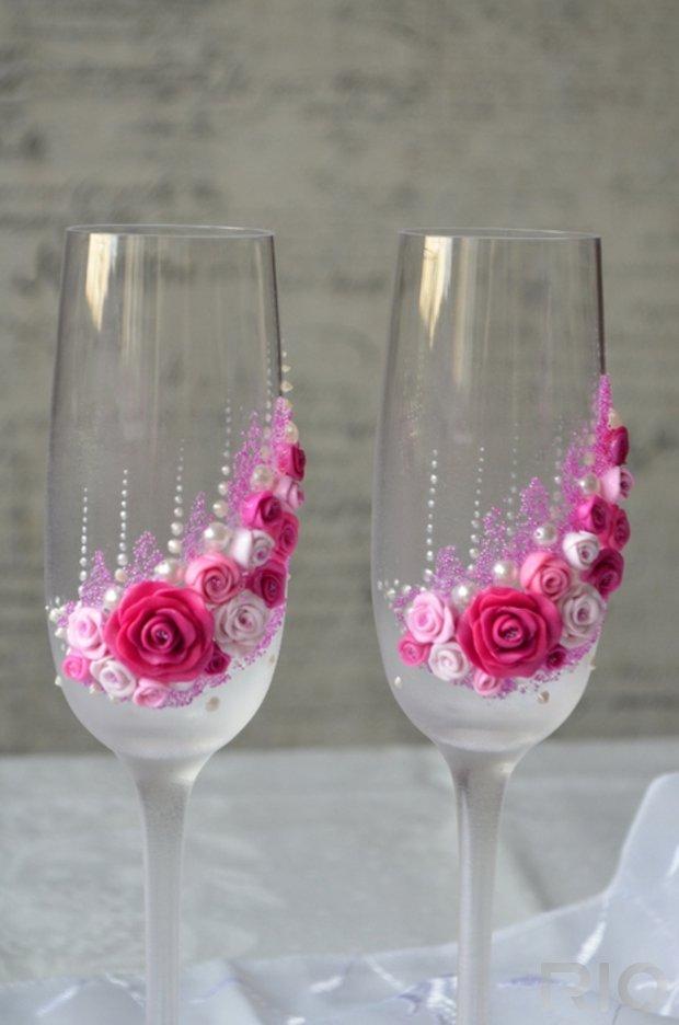 Роза из полимерной глины своими руками на свадьбу!