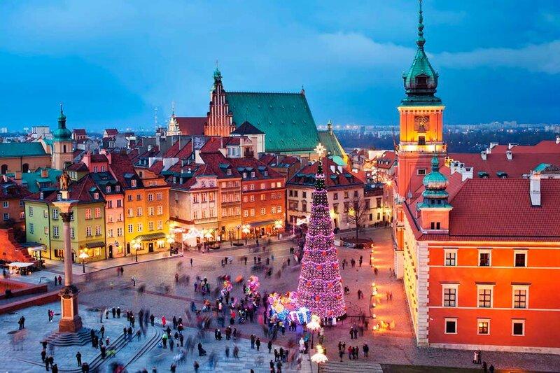 Варшава...