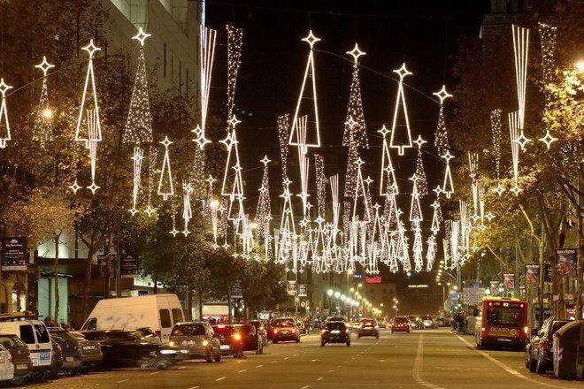 Новый год и Рождество в Барселоне – это время особого настроения,
