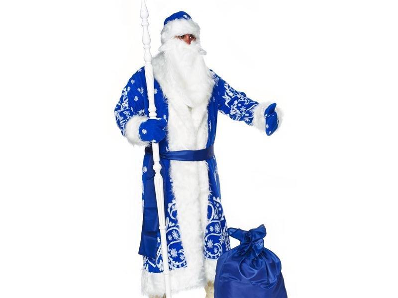 Поздравления, картинки дед мороз в синей шубе для детей