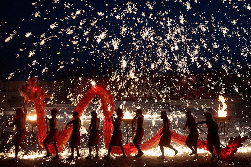 Пожеланиями, китайский новый год в картинках
