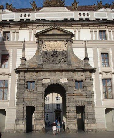 матиашовы ворота пражского града