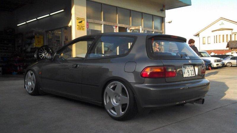 Диски fifteen52 на Honda Civic
