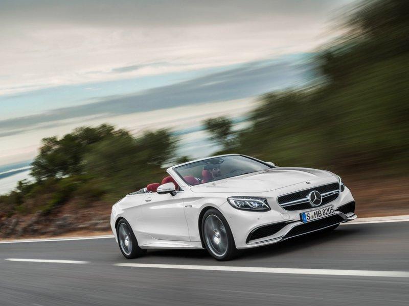Технические характеристики Mercedes-Benz (Мерседес Бенц) S-Класс AMG кабриолет Базовая S 63 AMG 4MATIC: Кабриолет, мощность - 585 л.с., коробка передач - автомат, расход топлива - 10.4 л/100км. Цена в Иркутске