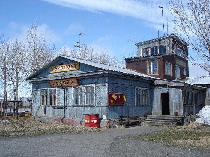 Аэропорт Оссора, Камчатский Край, Россия