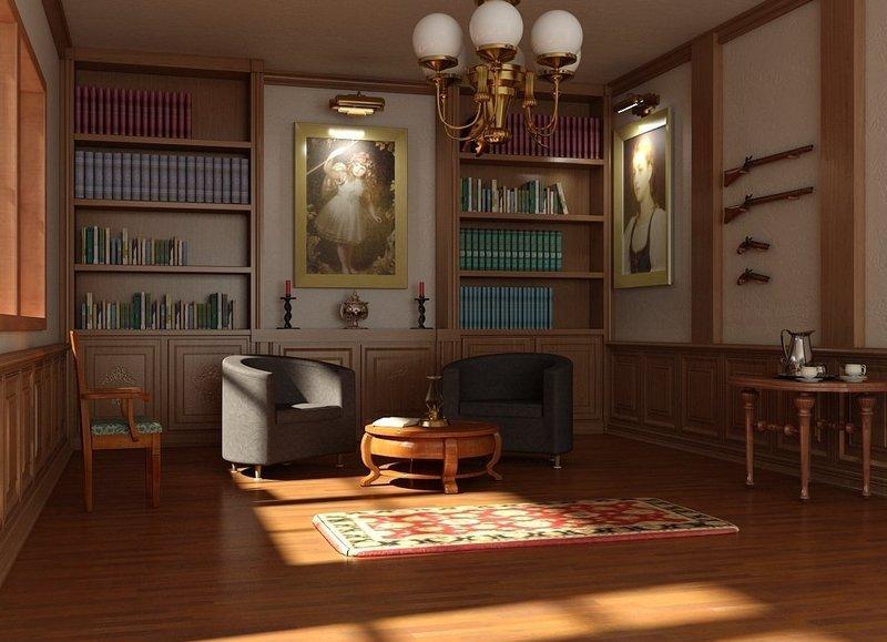 Викторианский стиль в интерьере Использование натуральных материалов в викторианском стиле