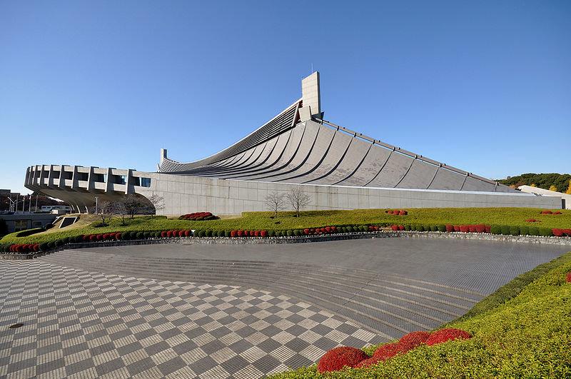 Национальный спортзал для олимпийских игр, Токио