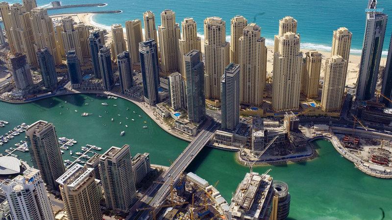 Высотные здания в Дубаи