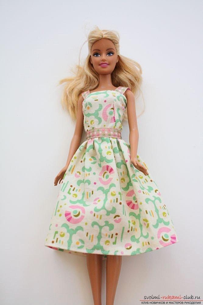 салатово розовое платье