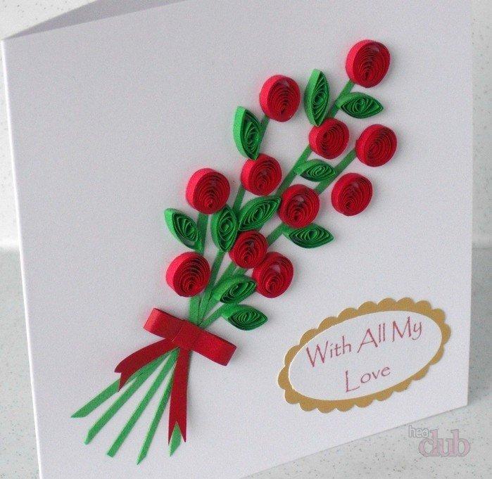 Открытки из квиллинга маме на день рождения, фсб картинки открытка