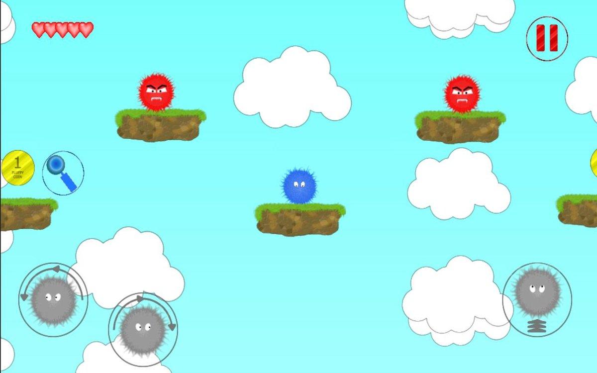 Онлайн игра Пушистики  играть бесплатно