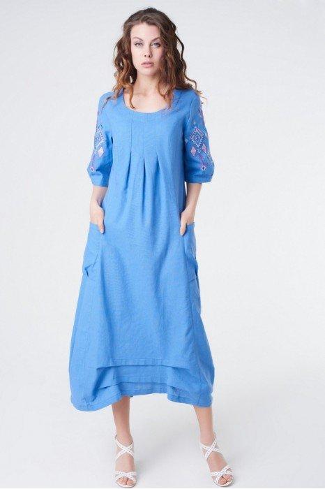 Платья длинное из льна интернет магазин