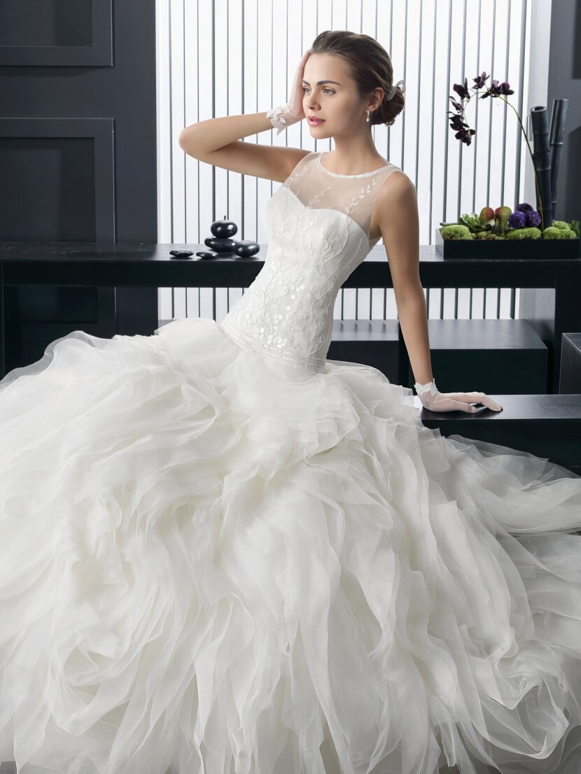 Картинки свадебные платья пышные и красивые