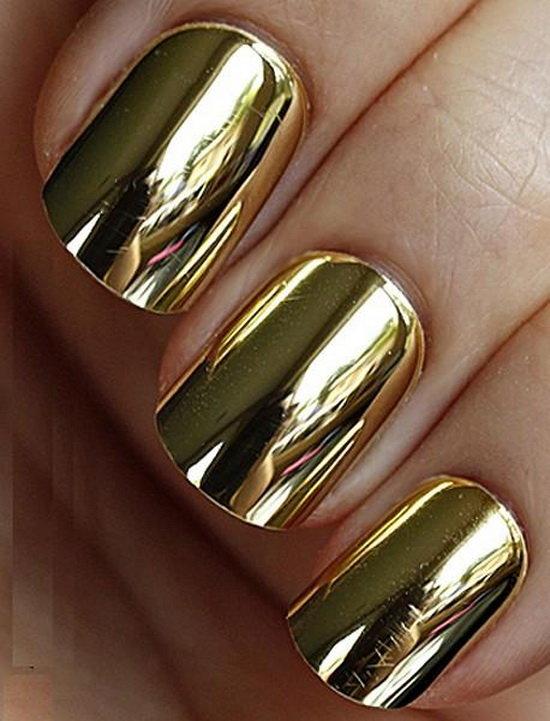 золотой лак на ногтях картинки обстановку веселого путешествия