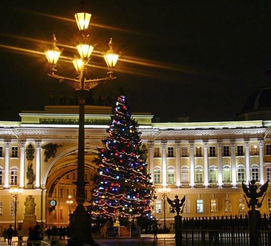 Новогодняя ёлка в Санкт-Петербурге