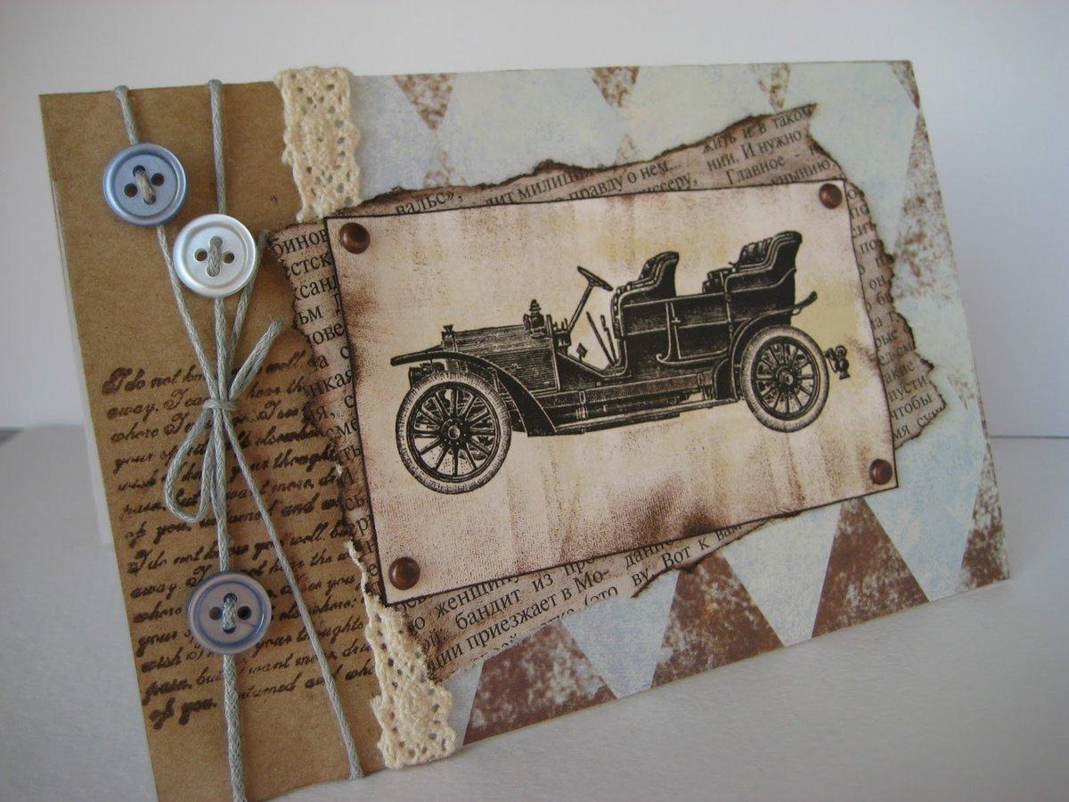 Суриката, скрап открытки для мужа