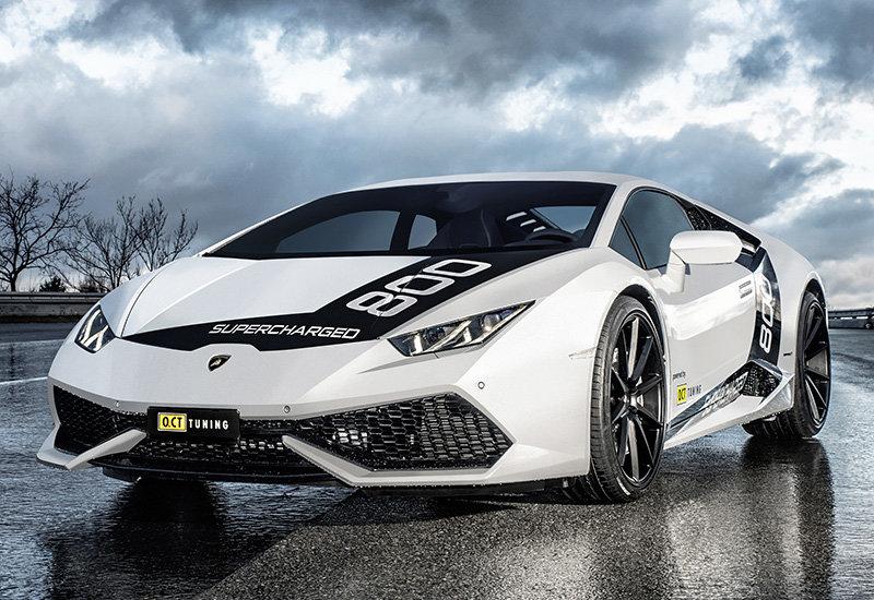 2016 Lamborghini Huracan O.CT Tuning O.CT800 Supercharged