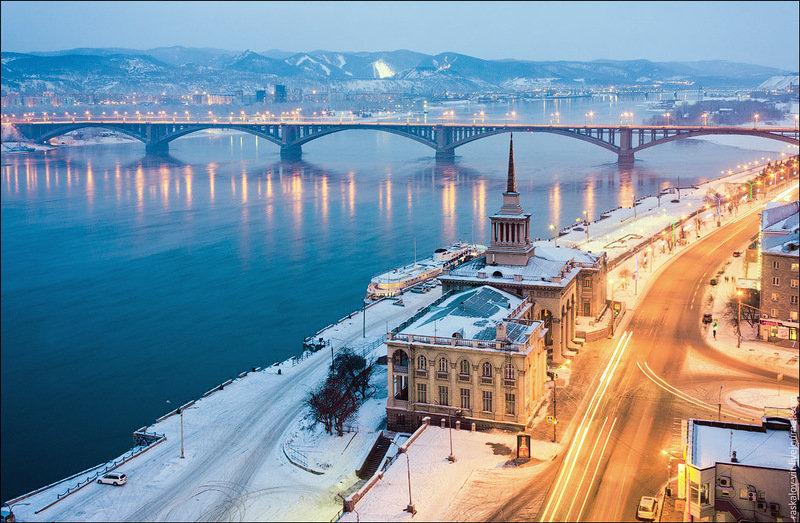 Красноярск. Речной вокзал