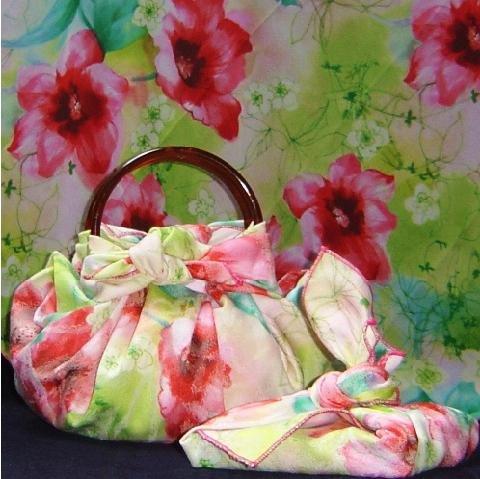 Японская сумка своими руками за 1 минуту