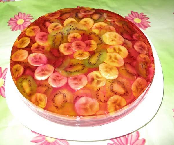 35bab55f4cab Желейный торт придётся по вкусу абсолютно всем, ведь он способен украсить  любой праздничный стол,