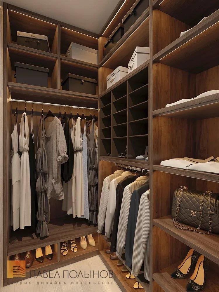 """Гардеробная комната в проекте """"квартира в современном стиле,."""