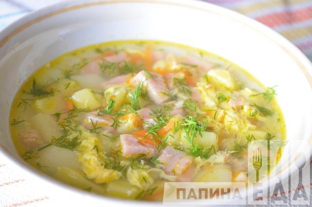 Как приготовить суп из колбасы вареной