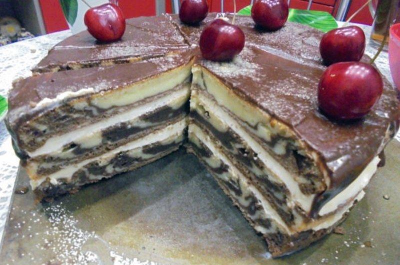 Рецепт домашнего торта фото
